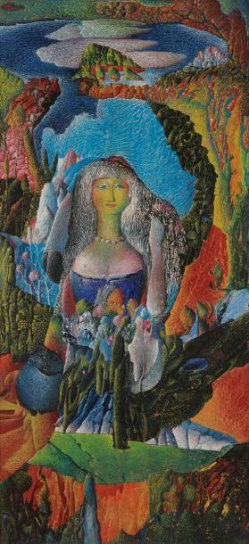 Aristide CAILLAUD (1902-1990) Femme dans...