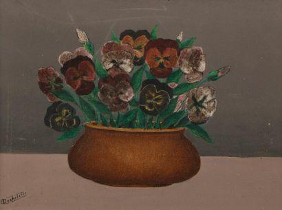 Louis Auguste DECHELETTE (1894-1964) Vase...