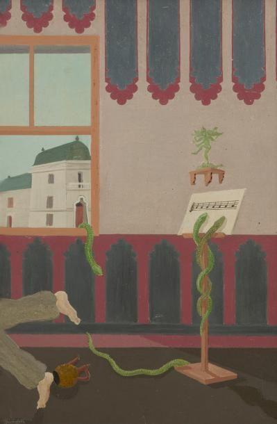 Louis Auguste DECHELETTE (1894-1964) Serpent...