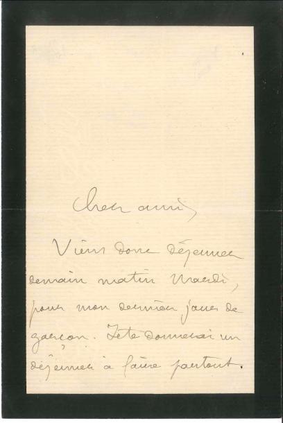 Pierre LOTI (1850-1923). L.A.S., [octobre...