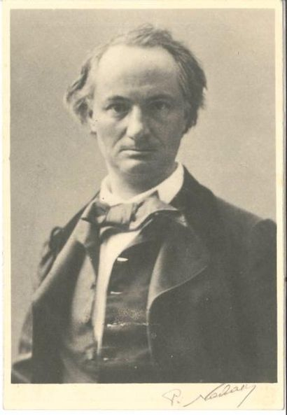 [Charles BAUDELAIRE]. Photographie; 17 x...
