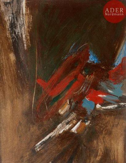 Yakzan ATASSI [syrien] (né en 1950) Composition,...