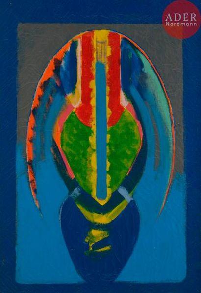 Claude BELLEGARDE (né en 1927) Le Vorace,...