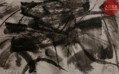 Simone BELLET (1901-1990) Composition, 1970...