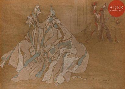 Riva BOREN (1926-1995) Composition, 1977...