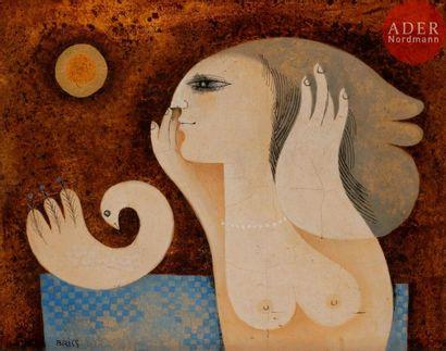 Sami BRISS (né en 1930) Bonjour ma colombe,...