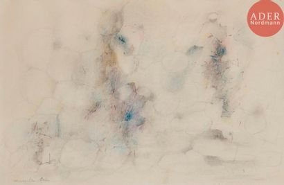 Marcelle CAHN (1895-1981) Composition, vers...