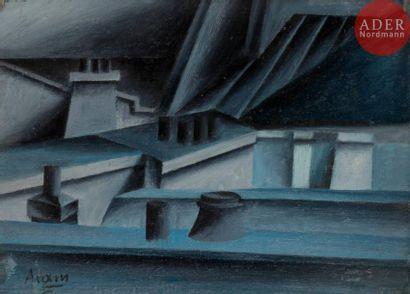 Michael Gottlieb ARAM (né en 1908) Toits,...