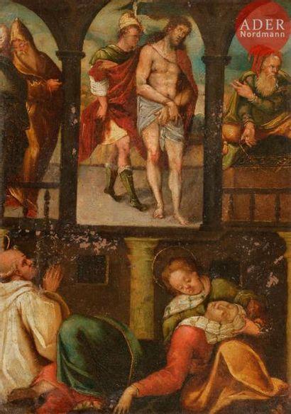 École ITALIENNE vers 1600 L'arrestation du...