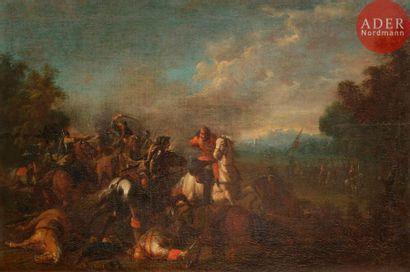 Attribué à August QUERFURT (1696-1761) Choc...