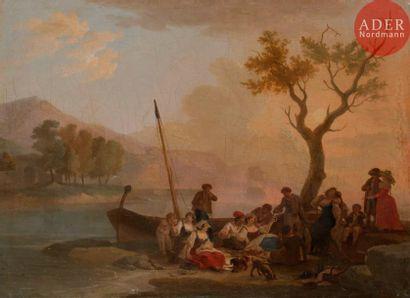 Attribué à Wolfgang Adam TÖPPFER (1766 -...