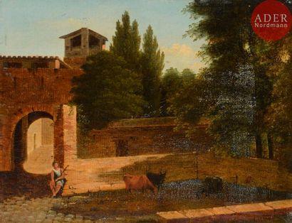 École ROMAINE vers 1820, entourage de Jean...