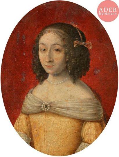 école FRANçAISE vers 1660 Portrait d'homme...