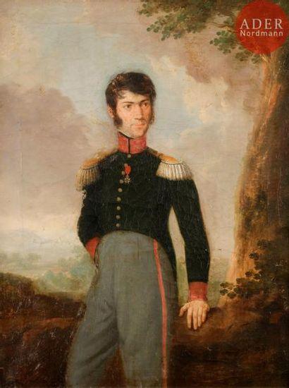 École FRANÇAISE vers 1830, entourage d'Alexandre...