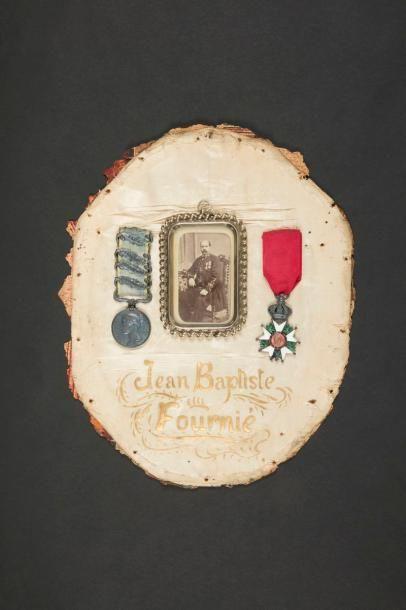 Souvenirs de Jean Baptiste FOURNIE, officier...