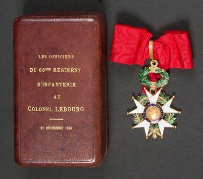 FRANCE ORDRE DE LA LÉGION D'HONNEUR, institué...