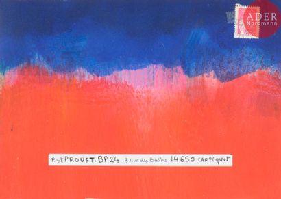 Yves ALCAÏS (né en 1938) Compositions abstraites...
