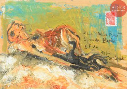 Lydie ARICKX (née en 1954) Composition Technique...