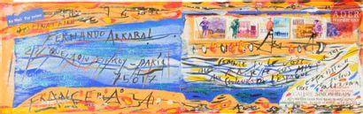 Julius BALTAZAR (né en 1949) Aux couleurs...