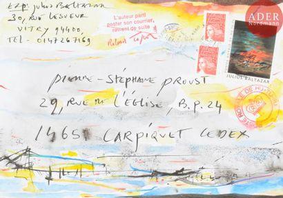 Julius BALTAZAR (né en 1949) Composition...