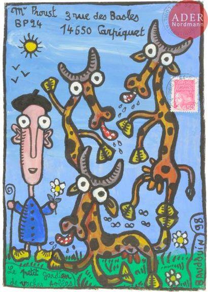 Jean-Paul BAUDOUIN (né en 1946) Le petit...