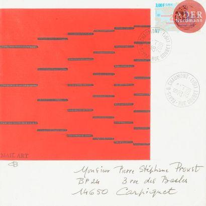 Charles BEZIE (né en 1934) Mail art d'après...