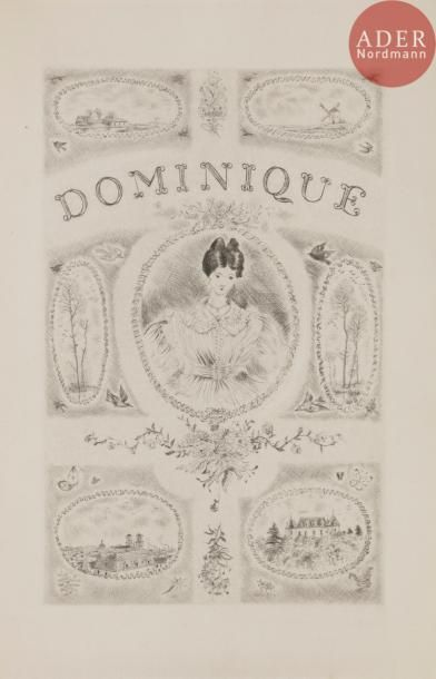 [CIRY (Michel)] - FROMENTIN (Eugène). Dominique....
