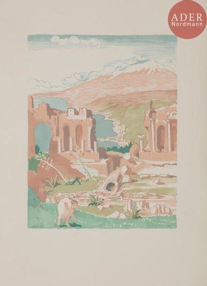 DENIS (Maurice). Carnets de voyage en Italie....