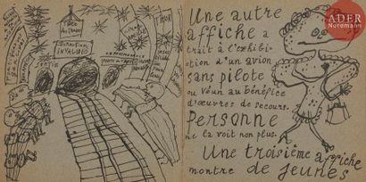 DUBUFFET (Jean) - PAULHAN (Jean). La Métromanie...