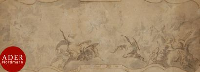 ÉCOLE ITALIENNE vers 1700 Le Concert des...