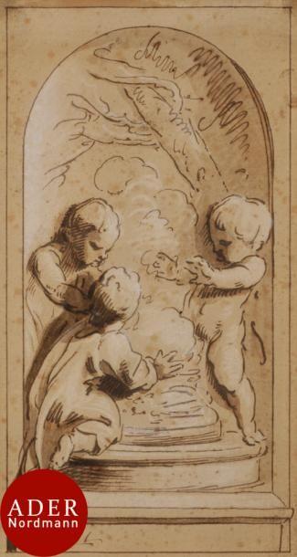 Jacob de WIT (Amsterdam 1695-1754) Allégorie...
