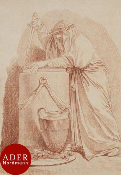 ÉCOLE FRANÇAISE du XVIIIe siècle 5 figures...