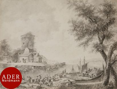 ÉCOLE de Jean PILLEMENT (Lyon 1728-1808)...