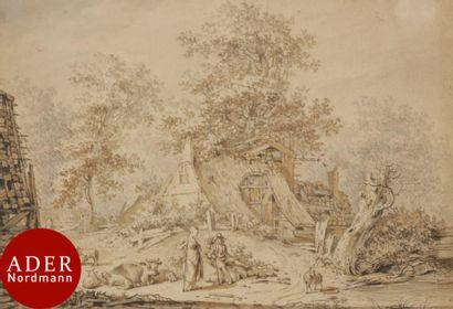 Hendrik MEIJER (XVIIIe siècle) Pastorale...