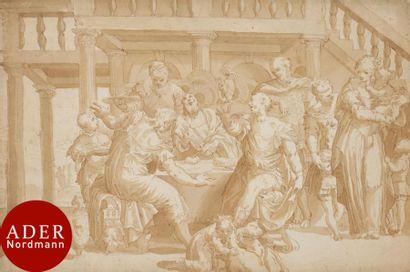 ÉCOLE VÉNÉTO-FLAMANDE début XVIIe siècle...