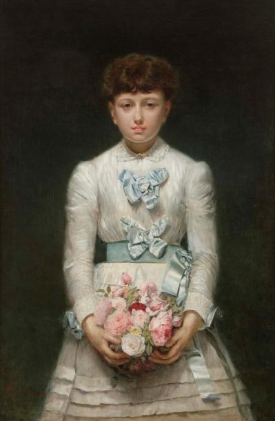 Ignacio DE LÉON Y ESCOSURA (1834-1901) Jeune...