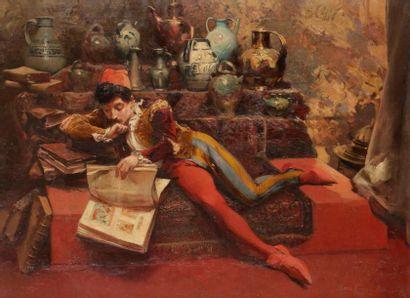Louis-Robert CARRIER-BELLEUSE (1848-1913)...