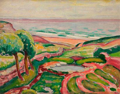 Adolphe-Marie BEAUFRèRE (1876-1960) Le Vallon...