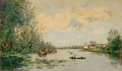 Paul Emmanuel PÉRAIRE (1829-1893) Rivière...