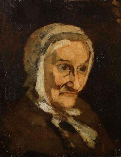 Louis ANQUETIN (1861-1932) Portrait de la...