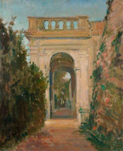 Jacques-Émile BLANCHE (1861-1942) Italie,...