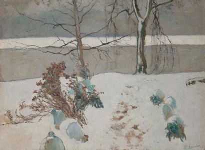 Francis Brook CHADWICK (1850-1943) Étude...