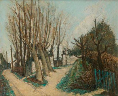 Alphonse-Léon QUIZET (1885-1955) Pays-Basque,...