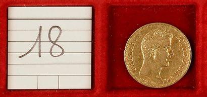 CHARLES X (1824-1830). 40 francs, 1830-A=Paris,...