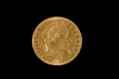 SECOND EMPIRE (1852-1870). 50 francs type...