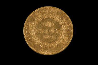TROISIEME REPUBLIQUE (1871-1940). 100 francs...
