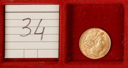 TROISIEME REPUBLIQUE (1871-1940). 10 francs...