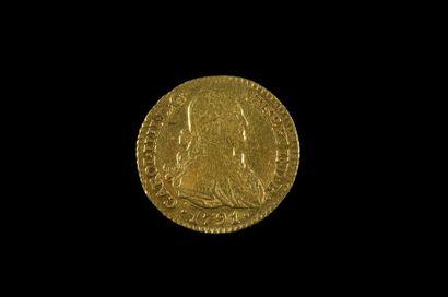 ESPAGNE. CHARLES IV (1788-1808). Escudo,...