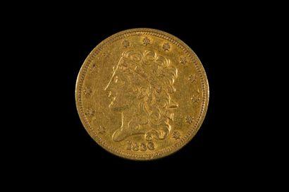 ETATS UNIS D'AMERIQUE - U.S.A. 5 dollars...