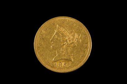 ETATS UNIS D'AMERIQUE - U.S.A. 10 dollars...
